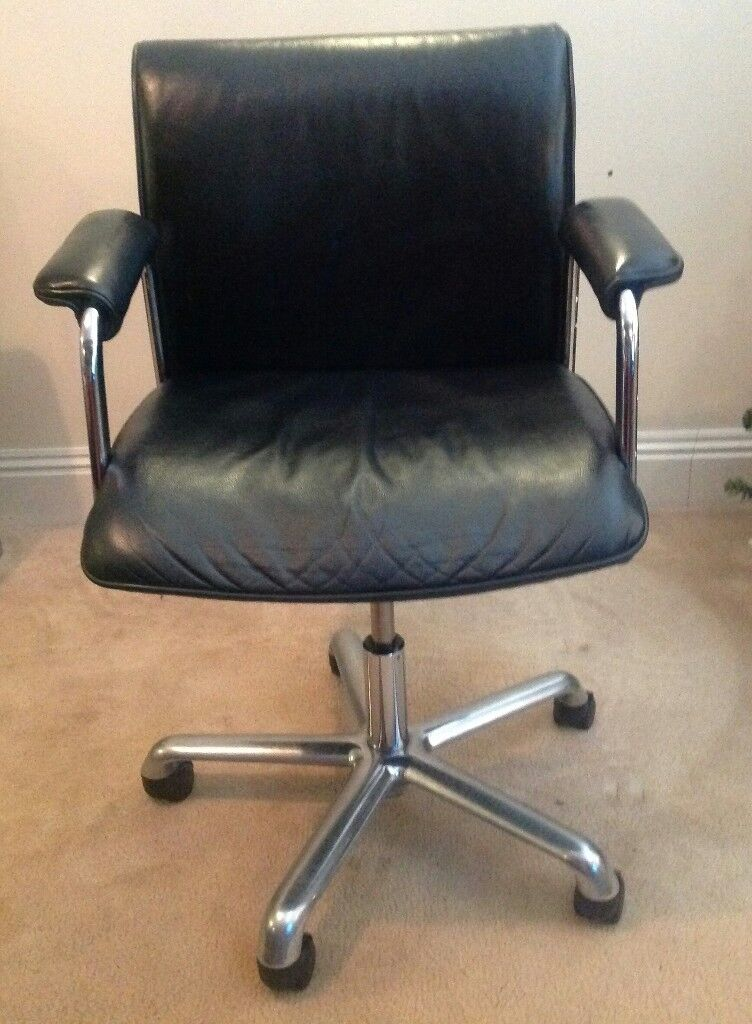 boss design delphi leather chairs x 2 low back task x 4 visitor