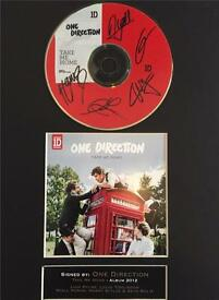 Signed One direction CD