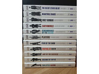 Doctor Who 50th anniversary special edition books (set of 11) brand new