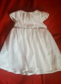 Christening White dress 74cm