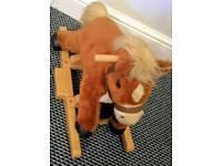 Child's horse rocker