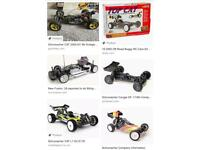Vintage Radio Control Cars, Motors, kyosho, Schumacher, others - looking for what surplus you have