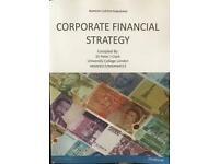 Corporate Financial Strategy by Peter J Clark