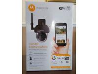 Motorola CCTV Dome Security WiFi Camera PTZ Smartphone Viewing New