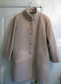 Classic style Mohair Wool Coat