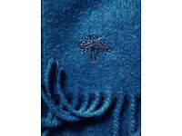 Mulberry Cashmere Scarf 100% genuine