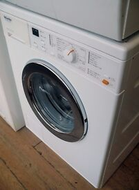 Miele 500 series washer with 1300 spin and 6kg load capacity.