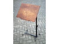 Gorgeous solid oak antique music stand