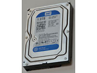 "WD Western Digital Blue 1TB 3.5"" 64MB Cache Desktop Internal SATA Hard Disk Drive HDD"