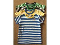 BNWT Next Baby Boy Four Pack TShirts 9 - 12 Months
