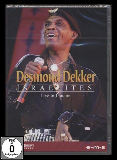 DVD DESMOND DEKKER - ISRAELITES - LIVE IN DINGWALLS (LONDON) *** NEU ***
