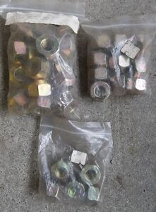 "1/2"" R/H X 1"" O/D HEX WHEEL NUTS , 2 - 20 PACKS $15.00 PER PACK."