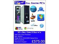 Call Centre PC's x 10