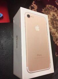 IPHONE 7 32gb gold unlocked apple