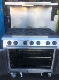 Falcon Dominator G2101 LPG Catering oven/range/cooker/propane gas oven