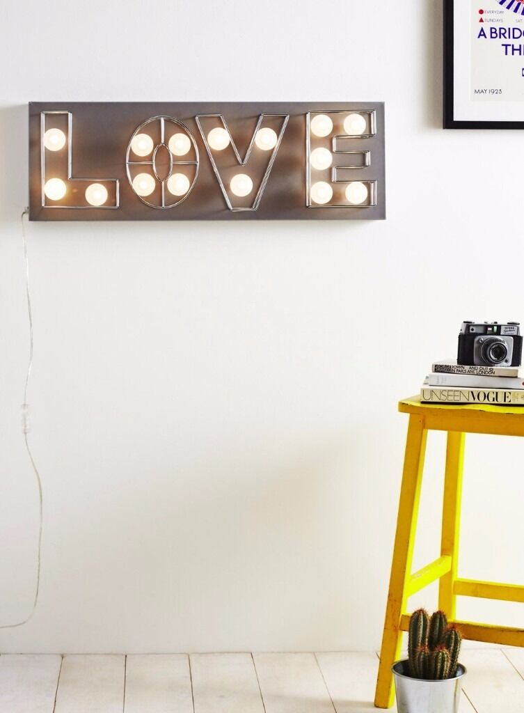 BHS Wall Mounted LOVE Light