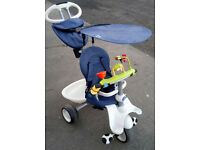 Smart Trike 4 in 1 Trike with Parent Handle