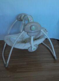 BABY SWING ROCKER SEAT