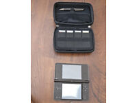 DSi XL and 7 Games, case and stylus - all in very good condition for Cash on Collection