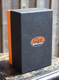 Geek Squad Box (Empty) - Black and Orange