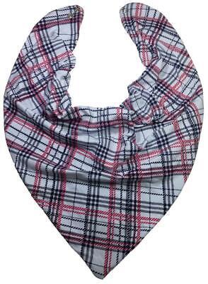 Black /& White Arafat Gingham Design Bandana Headwear Scarf WristWrap Headtie B4