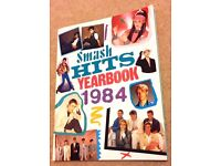 Smash Hits 1984 Yearbook & Nov, 1983 Smash Hits magazine - wee Xmas pressie for 80's music fan