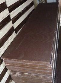5 Pieces of NEW 12mm RIGA - TEX Phenolic Resin Birch Ply 48in x 15½in (1220mm x 390mm)