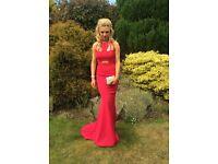 UNO ONO pink prom dress