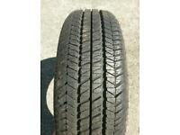 Brand new goodyear tyre 175/70/13 universal tread all weather tread classic tyre