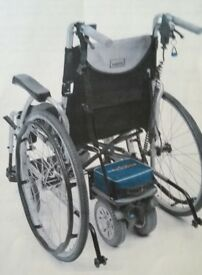 Wheelchair and Powerpack