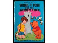 Vintage 'Winnie The Pooh & The Honey Tree' Book (1969)
