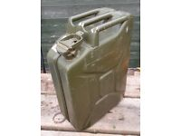 5-gallon ex-army Jerry Can
