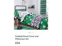 Brand new football bedding