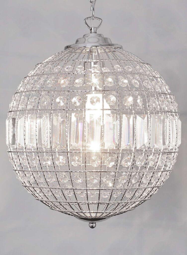 40 modern living ursula small crystal ball ceiling lightpendants 40 modern living ursula small crystal ball ceiling lightpendants rrp 200 bhs mozeypictures Choice Image