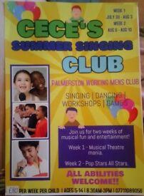 SUMMER SINGING CLUB!!