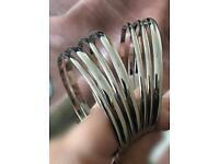 Fenwick silver bangles