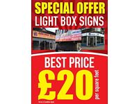 Open a new shop? Best Price for Shop Signs Light Box - 3D Letters - Flat Cut Letters