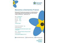 Dementia Friends Awareness Session