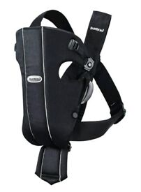 BabyBjörn Baby Carrier Original, Black (Used)