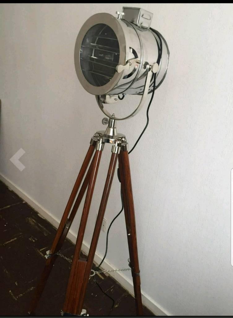 Spot Light Vintage Tripod Floor Lamp In Gateshead Tyne