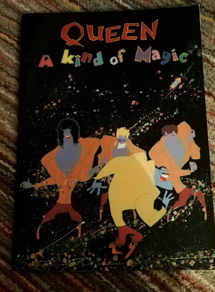 Queen. A Kind Of Magic Tour Programme