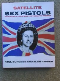 Sex Pistols book - 'Satellite: Memorabilia-Locations-Photography-Fashion'