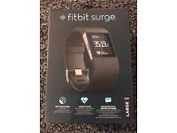 FITBIT SURGE LARGE. IDEAL CHRISTMAS PRESENT.