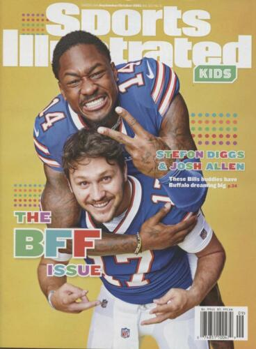 Sports Illustrated For Kids September October 2021 Josh Allen Stefon Diggs Bills