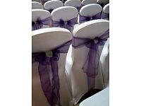 Chair cover hire and venue dressing