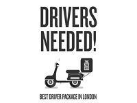 Best Scooter/Moped Delivery Driver Package in London