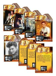 2010-ELVIS-PRESLEY-25-Card-Complete-Set-75th-Birthday-Jumbo-Die-Cut-VERY-RARE