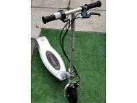Razor E100 Electric Scooter-Silver