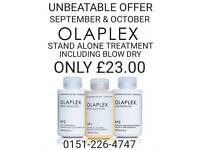 OLAPLEX TREATMENT OFFER!!