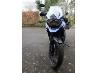 TRIUMPH EXPLORER 1200 Xcx 2017 only 25 miles. Genuine reason for selling. Registered 12/2017